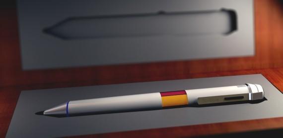 千萬色彩電子筆誕生 一支筆幾乎可畫出全世界所有顏色
