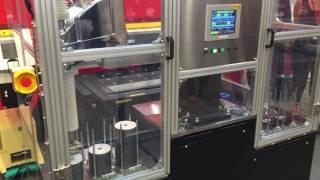 Wow !!  UJF-7151機器人自動化生產光盤印刷新技術