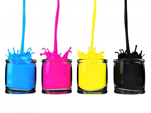 噴墨印表機墨水的分類以及特性