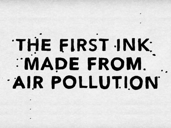 把空氣汙染變墨水!你聽過嗎?