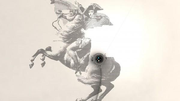 【噴墨分享】牆壁是畫布!名作《拿破侖翻越阿爾卑斯山》竟出自機器人之手