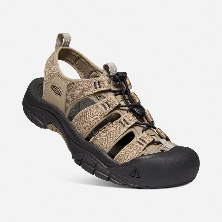 Keen NEWPORT H2 男款 護趾運動涼鞋 1022251 卡其/淺咖啡