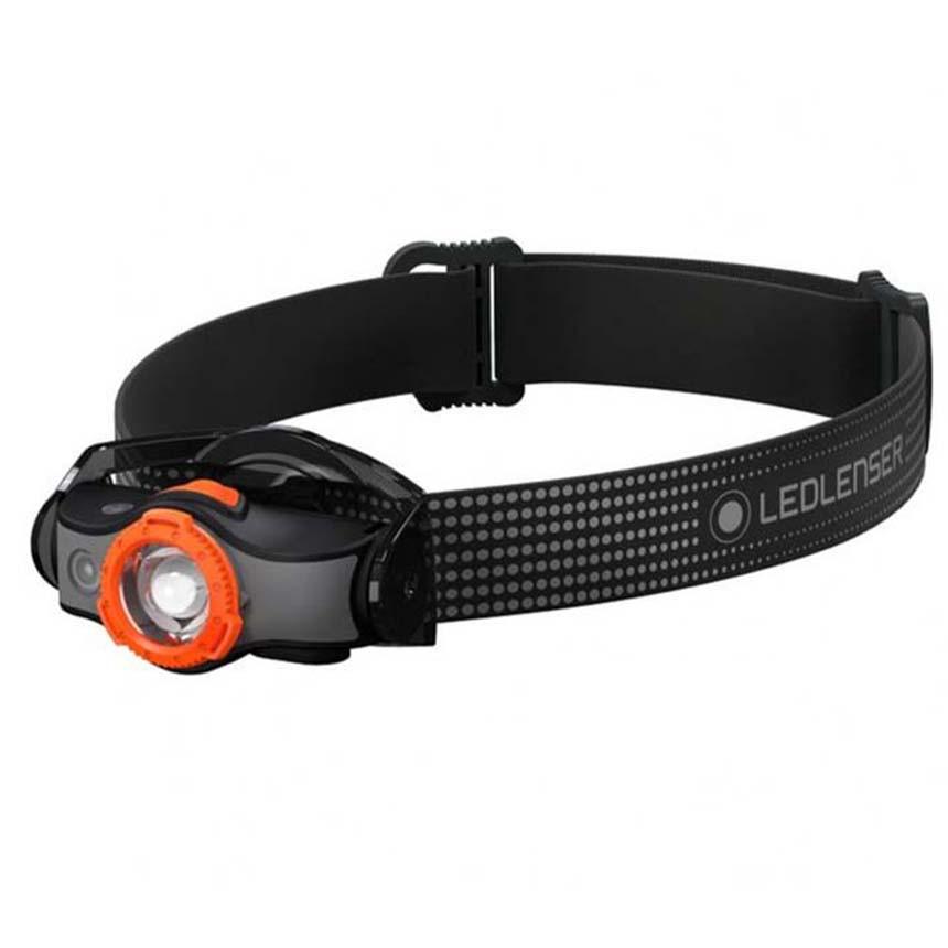 LED LENSER MH5 專業伸縮調焦充電型頭燈 400流明 橘 502143