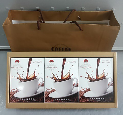 合莉520咖啡禮盒 (合莉濾掛式咖啡/黃金曼特寧) Coffee gift box