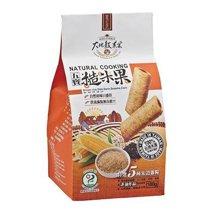 五寶糙米果 Wubao Brown Rice Crackers