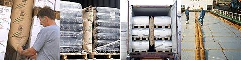 BATES貨櫃充氣袋廣泛使用在各種商品運送中填充空隙