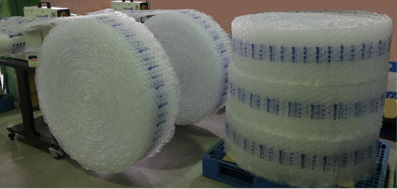 工業級高速氣泡布製造機收捲器-寧泰科技newtime
