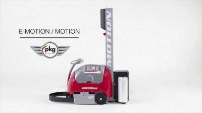 motion自走式棧板膠膜機器人外型-寧泰科技