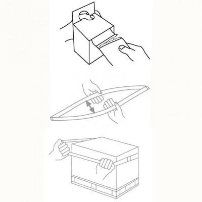 棧板拉伸彈性帶-使用方法