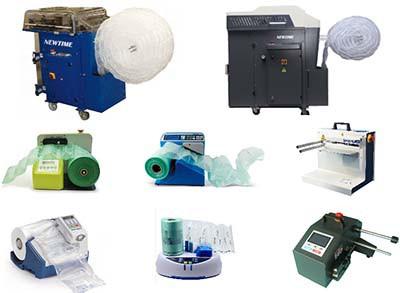 氣墊機-緩衝氣袋機--設備價格、功能、產地、保固比較-採購指南