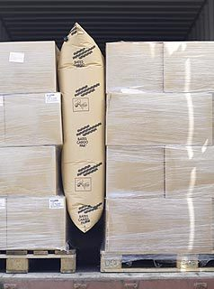 BATES貨櫃充氣防撞袋(貨櫃填充空氣袋)