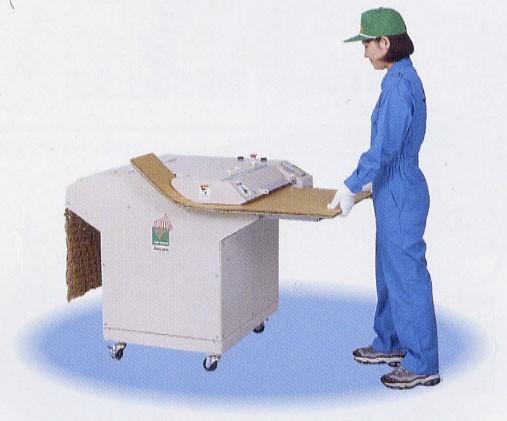 落地型工業用蜂巢紙墊製造機/波紋紙箱碎紙機