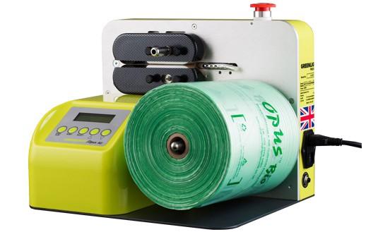 英國OPUS AIR桌上型氣墊氣袋製造機-填充空隙最佳包裝材料