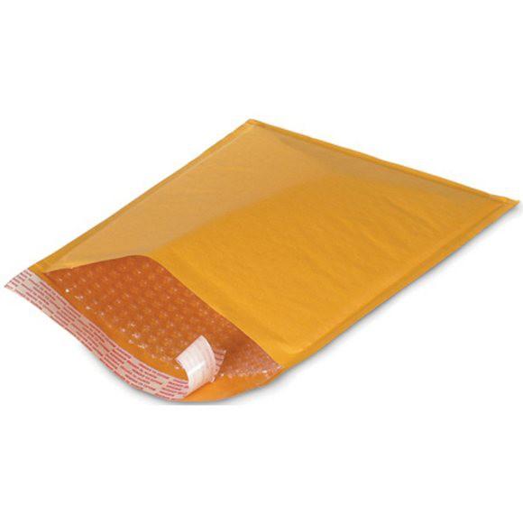 黃牛皮氣泡布信封袋【21*36cm】100PCS