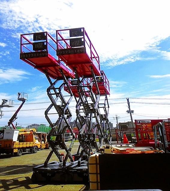 剪刀式高空作業車