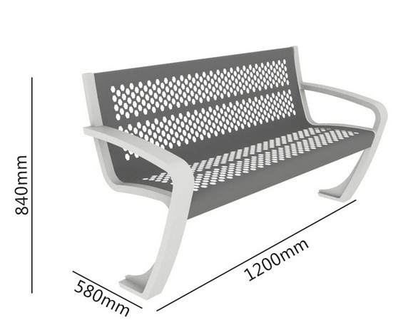 [D-021]-金屬座椅