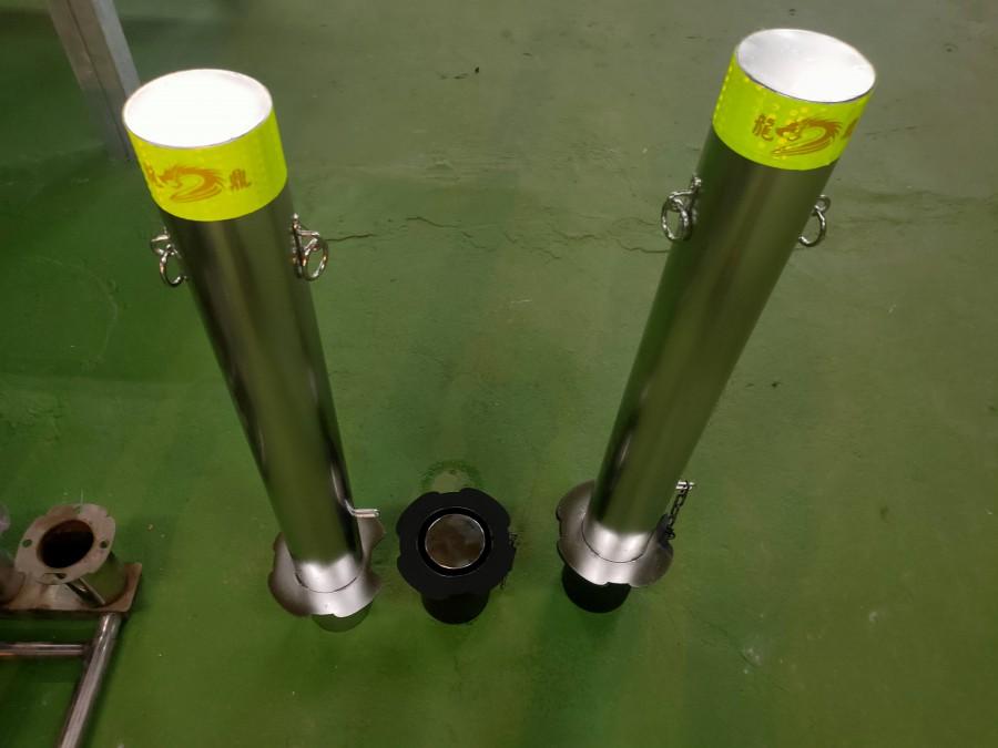 立柱型-不鏽鋼車阻-可拆卸-通用款
