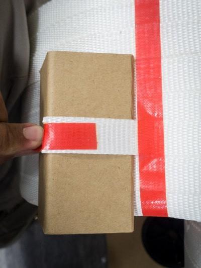 紙護角/角紙 搭配纖維帶/複合帶1