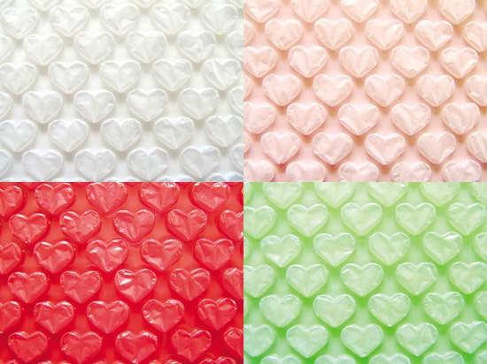 愛心氣泡布/氣泡帶/氣泡紙 試用組合-不透明色系