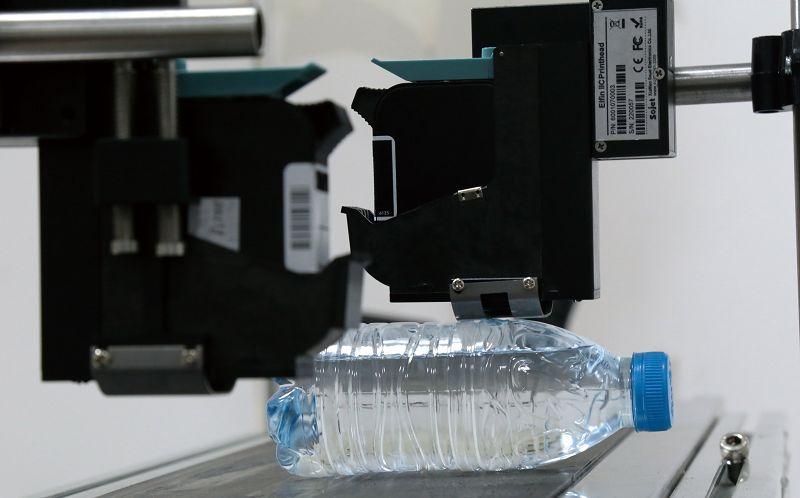 寧士多噴頭高解析噴印機 -礦泉水噴印