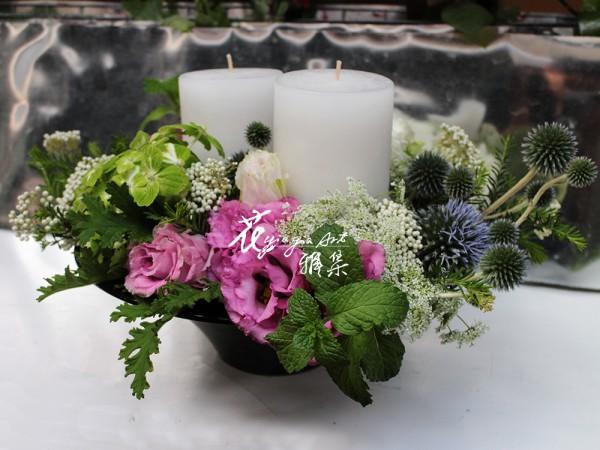 【花與燭】