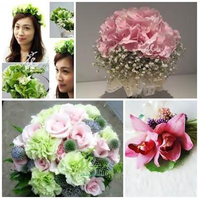 新娘捧花花飾課程