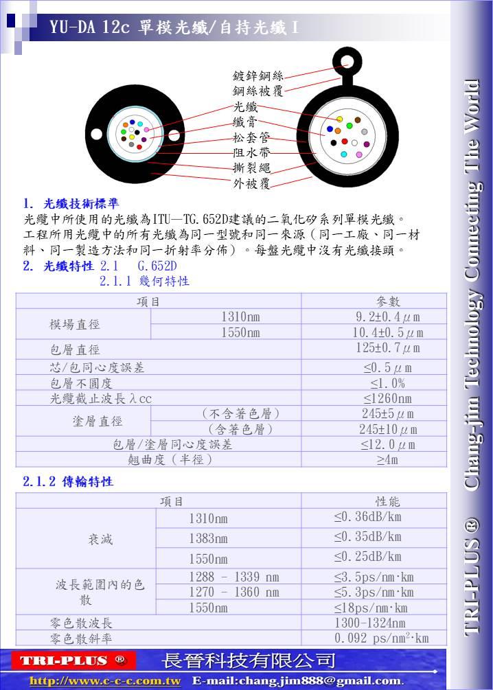 小圖4.6.8.12芯單束管光纖