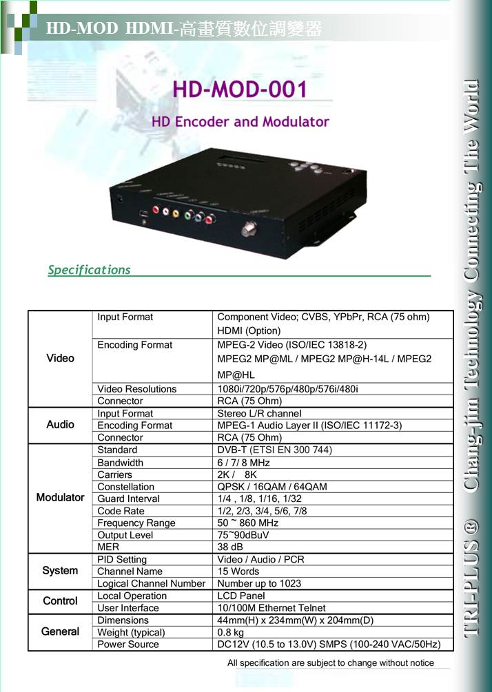 HD-MOD-001