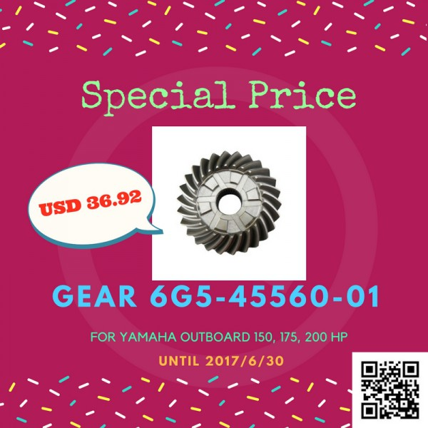 Special Price for Gear 6G5-45560-01