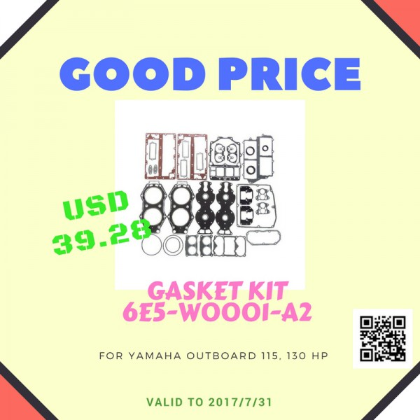 Special Price for Gasket Kit 6E5-W0001-A2