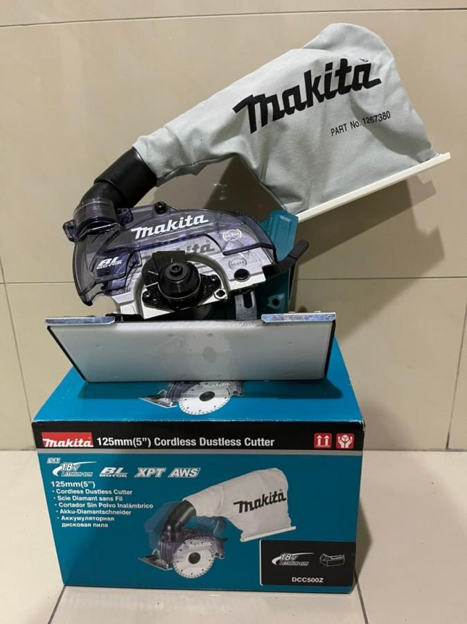 makita牧田DCC500 充電式無刷集塵切割機(含底板)