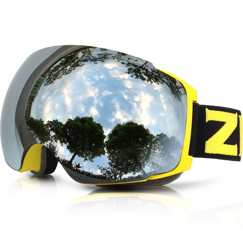 亞馬遜熱賣款 雙層鏡片大球面可換片滑雪雪鏡