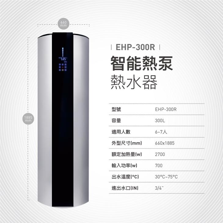 EHP-10-300R規格尺寸