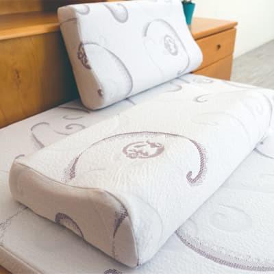 備長炭釋壓枕