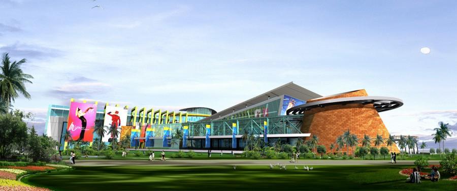 購物中心開發案 建築規劃與設計