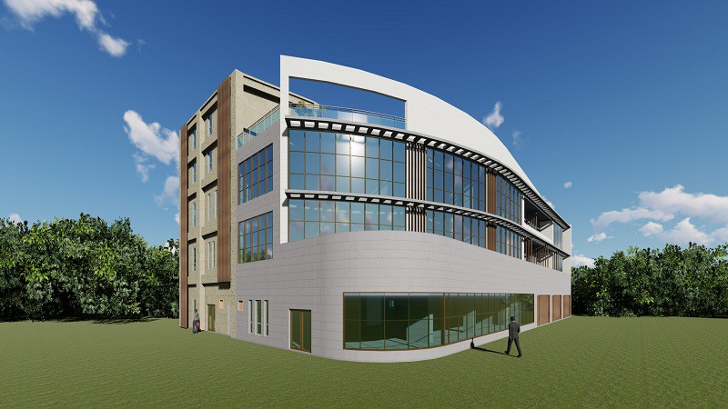 海岸景觀商辦建築設計
