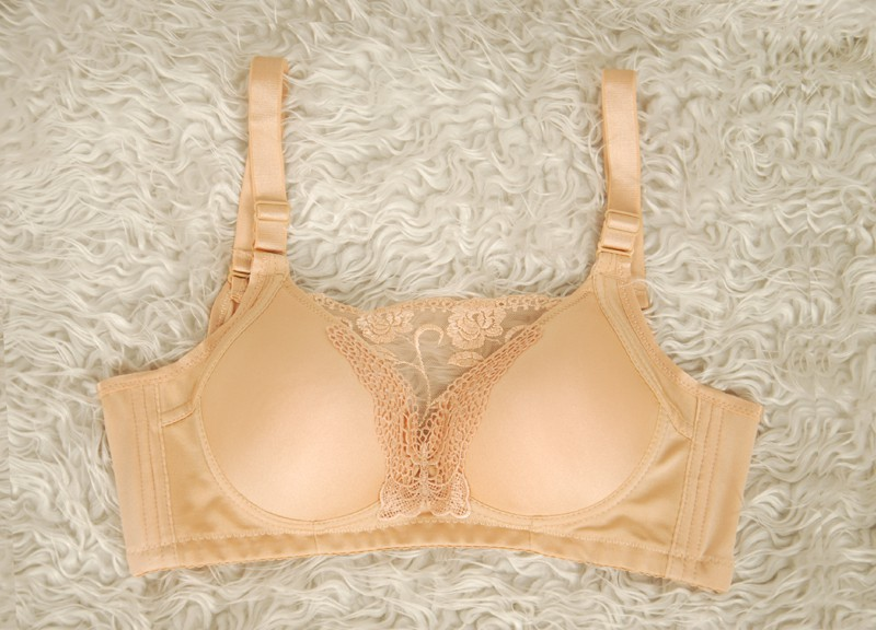 新款雙邊義乳胸罩透氣軟膠款