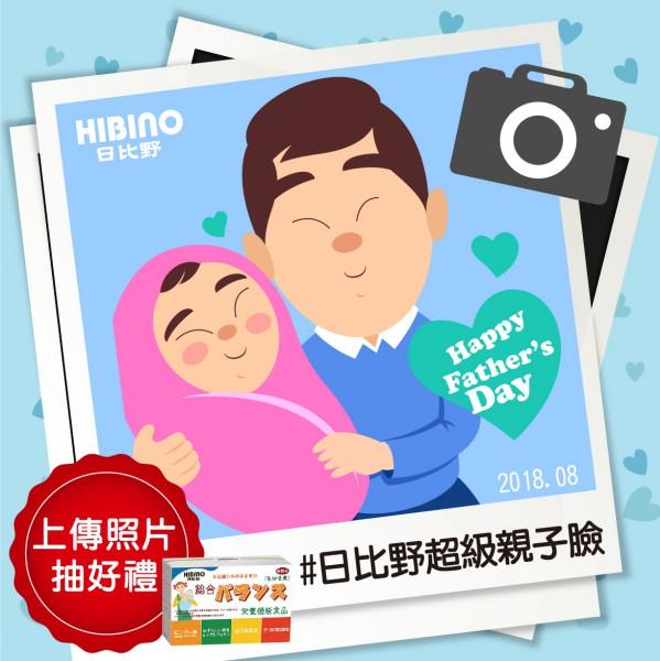 (已開獎)「日比野超級親子臉」活動,上傳照片就有機會抽好禮!