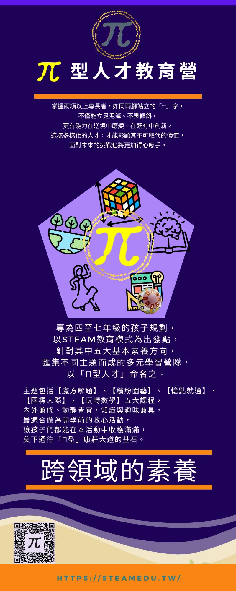 π型人才教育營 (視覺圖)