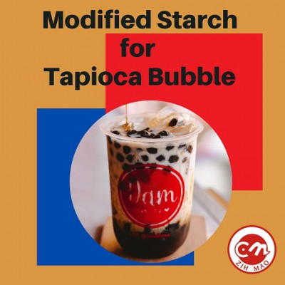 Modified starch for tapioca ball