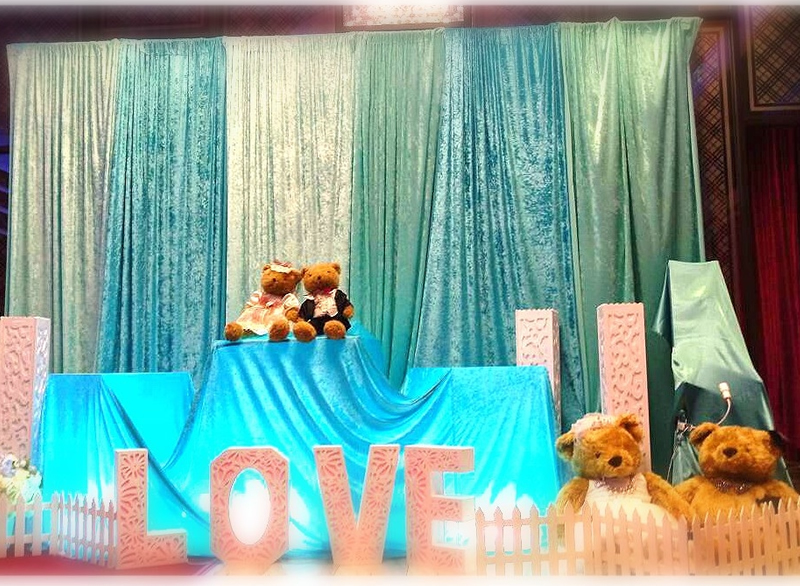 婚宴會館佈置2