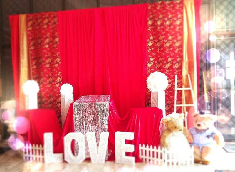 婚宴會館佈置3