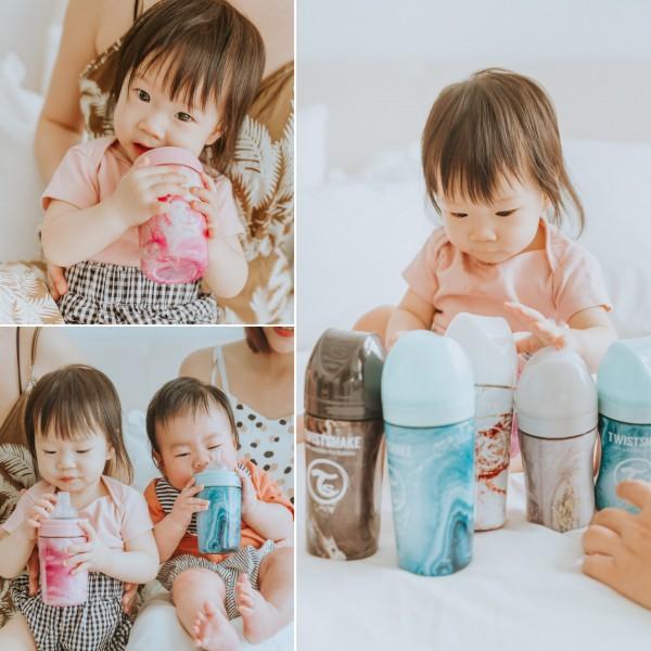 【超正攝影師開箱】網美限定款!又美又實用的炫客不銹鋼奶瓶