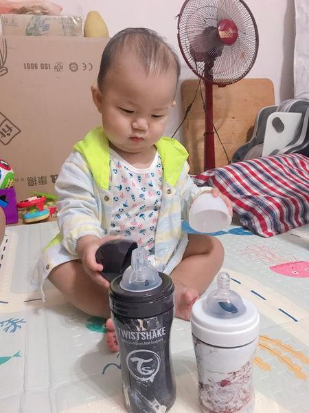 【媽咪開箱】時尚寶寶的配件:瑞典炫客Twistshake不銹鋼奶瓶