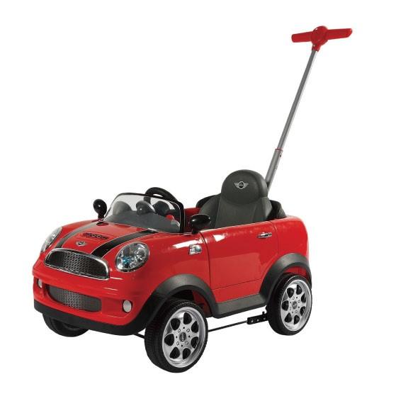【名車授權】Mini Cooper 腳踏四輪後控助步車
