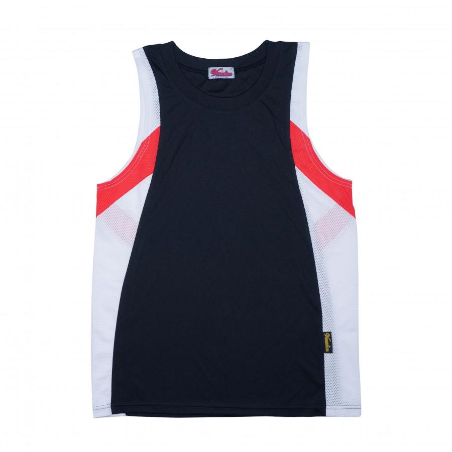 單面穿籃球服(黑白紅)