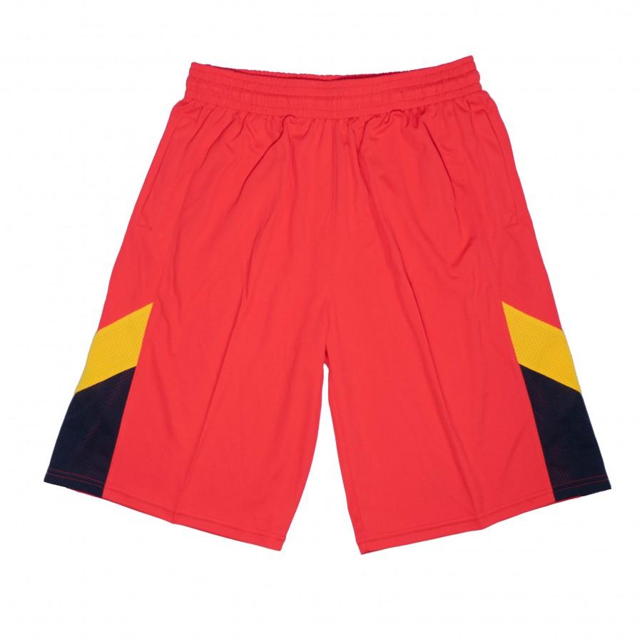 籃球褲(紅黑黃)