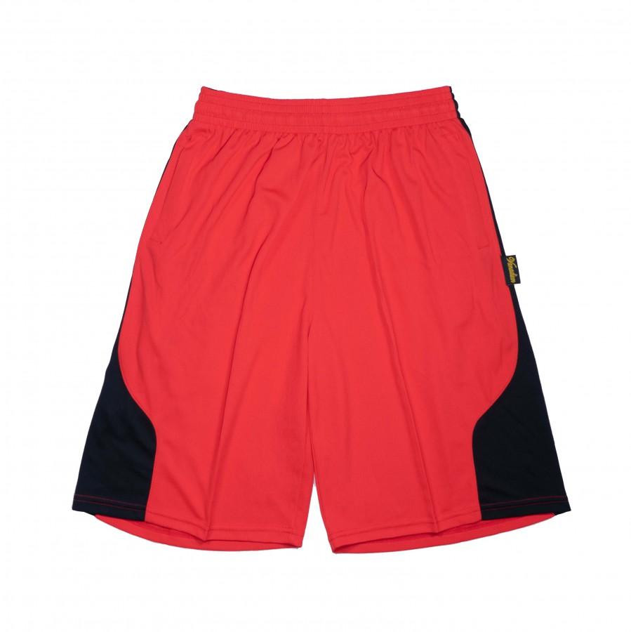 籃球褲(紅黑)