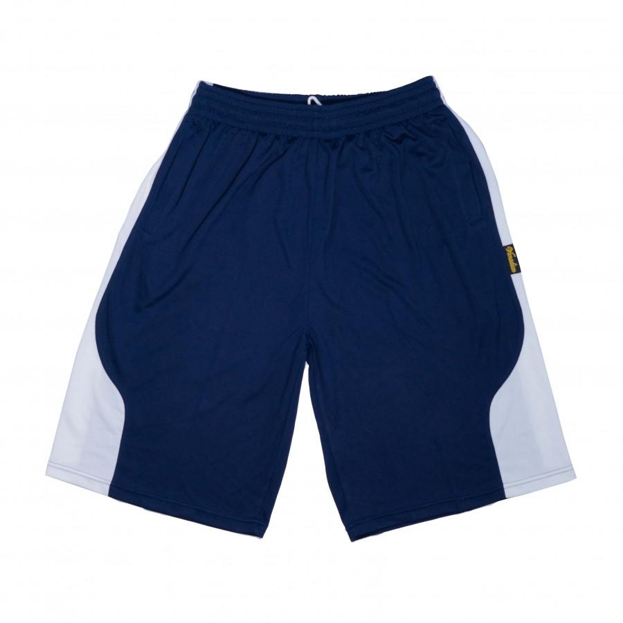 籃球褲(藏青白)