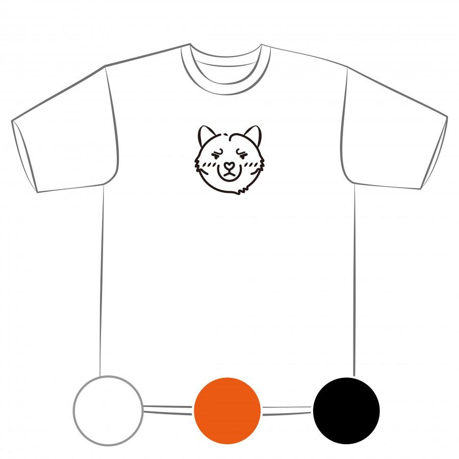 【預購】人類最好的朋友-狗-排汗衣/白色/橘色/黑色-